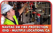 NAVFAC SW Fire Protection IDIQ - Multiple Locations, CA